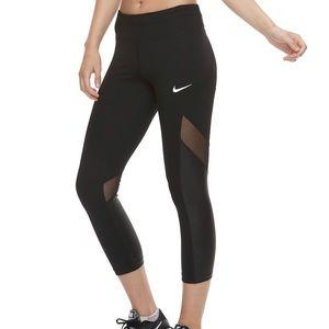 NWT Nike mesh leggings Sz XL
